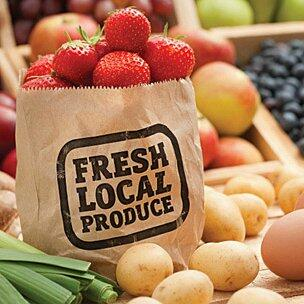 Fresh local food