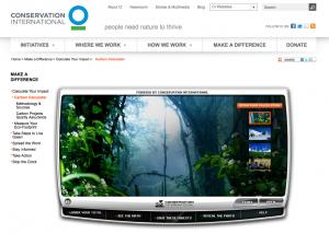 Conservation International Carbon Calculator