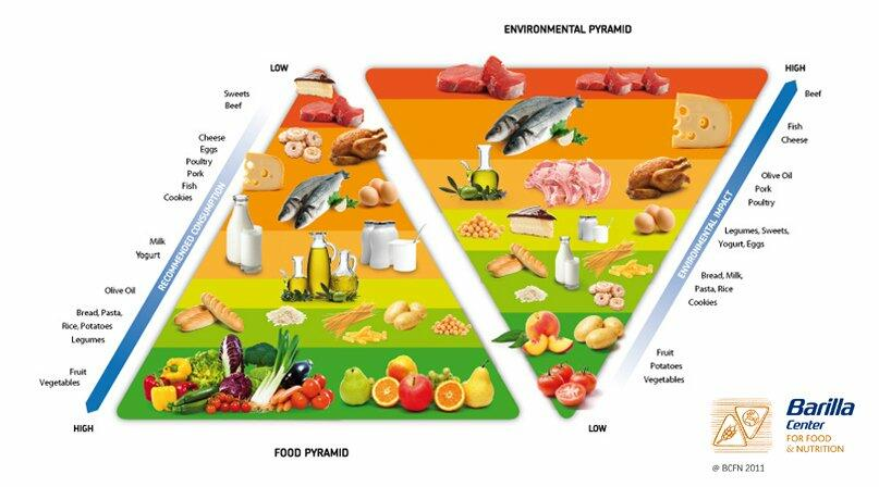 Sustainable Food Pyramid